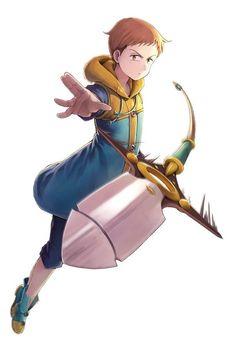 Nanatsu no Taizai The Seven Deadly Sins anime and manga ~ KING Seven Deadly Sins Anime, 7 Deadly Sins, Film Anime, Manga Anime, Anime Naruto, Anime Guys, Cool Animes, Photo Pokémon, Seven Deady Sins