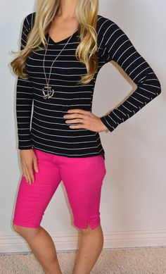 Sharayne Top is striped and SexyModest fabulous! http://www.sexymodest.com/collections/featured/products/sharayne-top @modestshoppin