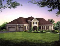 Elevation of House Plan 95066