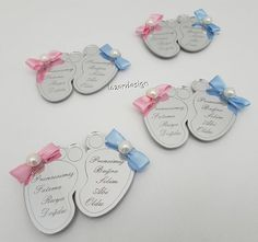 Lazer Cut, Baptism Favors, Baby Born, Baby Decor, Laser Engraving, Laser Cutting, Paper Flowers, Baby Gifts, Diy And Crafts