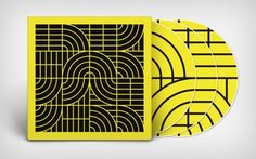 """Celebrating his 30th anniversary, """"Pubic Intellectual"""" is the first anthology to document Momus' entire recorded output. (© Hagen Verleger) #CD #Album #Momus #Black #Yellow #Sleeve #Packaging"""