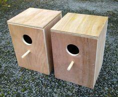 L Nest box good for Ringnecks, Plum Heads Quakers ...