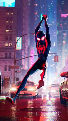 Artstation Spiderman Into The Spider Verse Zac Retz Concept
