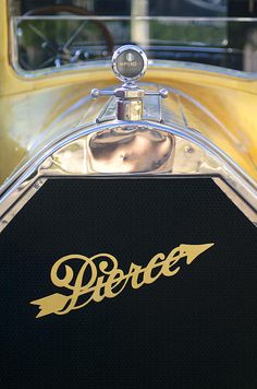 1920 Pierce-Arrow Model 48 Coupe Hood Ornament Photograph by Jill Reger - 1920 Pierce-Arrow Model 48 Coupe Hood Ornament Fine Art Prints and Posters for Sale