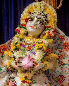 "Aradhya Gauranga Photography on Instagram: ""Today's Purushottam month Day 4 Darshan from Sri Mayapur Dham 2020-09-21 (Sri Citra Sakhi's Apperance Day)"" Radha Rani, Deities, Krishna, Worship, Captain Hat, Princess Zelda, The Incredibles, Beauty, Photos"