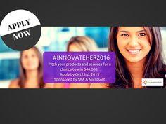 INNOVATEHER2016: WA Businesses Apply by Oct23rd