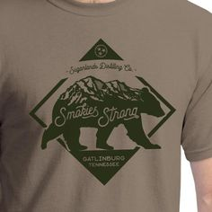 Smokies Strong Short Sleeve Shirt (Brown Savana)