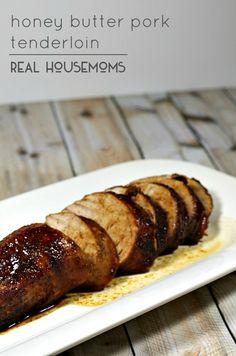 Honey Butter Pork Tenderloin   Real Housemoms