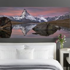 Features:  -Komar collection.  -Comes with 4 panels.  -Printed on vinyl coated paper.  Product Type: -Wall mural.  Theme: -Landscape.  Color: -Multi-colored.  Compatible Surface Type: -Flat surface.