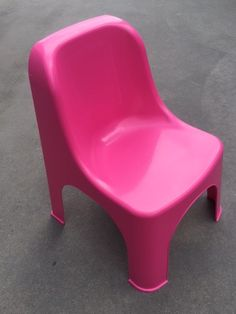 Retro Pink Child Chairs Suitable for ages Easily Stackable for transporting Pink Child, Pink Kids, Kids Party Tables, Adjustable Height Table, Party Hire, Colorful Chairs, Little People, Table And Chairs, Retro