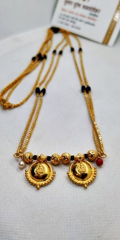 Pearl Necklace Designs, Jewelry Design Earrings, Gold Earrings Designs, Gold Jewellery Design, Gold Pendants For Men, Gold Mangalsutra Designs, Gold Chain Design, Gold Jewelry Simple, Mangalsutra Bracelet