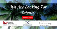 **LOOKING FOR TALENT** . Looking for Rockstar Real Estate Talent for a TOP Team! . Do you or someone you know have the Skills, Dedication & Drive to be a part of a Fast Paced Real Estate Sales Team? Looking for multiple positions! If this is what you've been looking for, contact me today! . BrandyCoffey941@gmail.com . #realestate #realtor #kellerwilliams #kellerwilliamsrealty #thecoffeygroup #islandliferealty #talent #newtalent Sarasota Real Estate, Real Estate Sales, Keller Williams Realty, Island Life, Positivity, Top, Crop Shirt, Shirts, Optimism