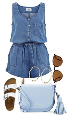 """""""Untitled #1226"""" by social-outcast-16 on Polyvore featuring New Look, TravelSmith, Kate Spade and Ray-Ban"""