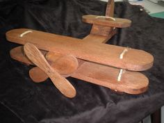 Biplane made by Gary!