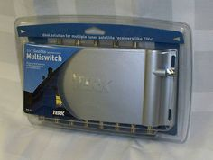 TERK BMS-58 MULTISWITCH 5-IN/8-OUT INTEGRATED SATELLITE NIB Listed on eBay