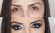 Maquiagem para Levantar o olhar! Por Bárbara Thais