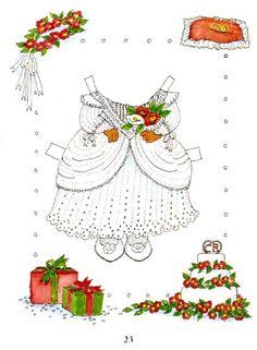 (⑅ ॣ•͈ᴗ•͈ ॣ)♡                                                            ✄Mouse paper dolls 22