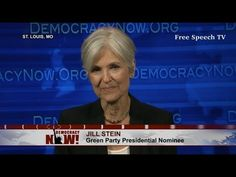 Jill Stein Talks Donald Trump v Hillary Clinton - YouTube #greenparty #jillstein #steinbaraka