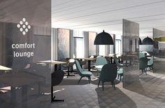 Tallink Megastar Lounge www. Wifi Service, Lounge, Retail, Warm, 3d, Table, Furniture, Home Decor, Airport Lounge