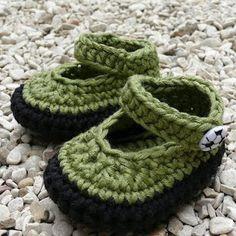 crochet booties-Knitting Gallery