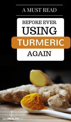 Read Before Ever Using Turmeric Again