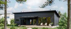 Nordic Classic Käpylä 128 Plus Secret Places, Varanasi, Garage Doors, Mansions, Studio, House Styles, Classic, Outdoor Decor, Home Decor