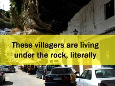 These villagers are living under the rock, literally - PickChur The Rock, Rock