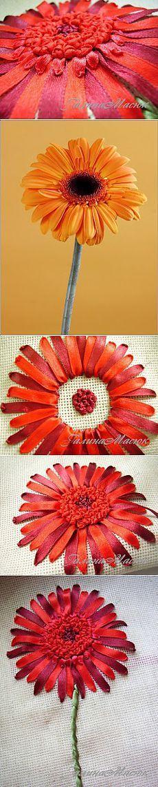 Курс вышивки лентами
