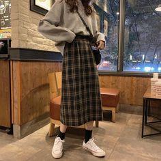 how to style outfits Korean Girl Fashion, Korean Street Fashion, Ulzzang Fashion, Muslim Fashion, Asian Fashion, Hijab Fashion, Fashion Outfits, Kpop Fashion, Korean Outfits