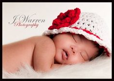 Photography Prop White Beanie with Roses  FREE SHIPPING. $24.00, via Etsy.