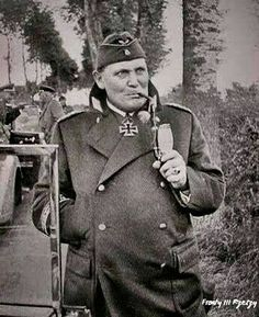 the man was actually an ace pilot during though. however, his mouth ruined him during German Soldiers Ww2, German Army, Luftwaffe, History Of Germany, Grand Chef, Germany Ww2, The Third Reich, Military History, Germany