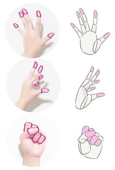 54 Trendy Ideas For Drawing Hand Illustration Character Design References Art Poses, Drawing Poses, Drawing Hands, Drawing Tips, Drawing Lessons, Manga Drawing, Anatomy Drawing, Hand Drawing Reference, Art Reference Poses