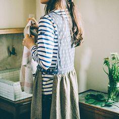 매일 사용하고 싶은 입고 적응 잘하는 코디 앞치마 모임 | 훼리 시모