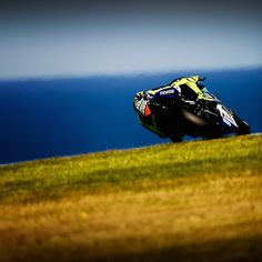 #ValentinoRossi Valentino Rossi: Phillip Island,Australia Friday,free practice Ocean view turn 2 Shot by Mighelon