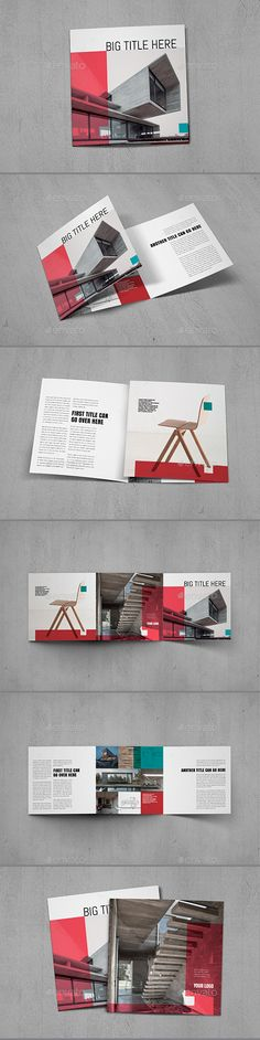 Cool Trifold Brochure Template InDesign INDD
