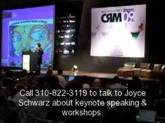 Future of Internet and TV Latin America, Joyce Schwarz, keynote speaker