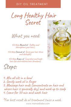 Long Healthy Hair Secret