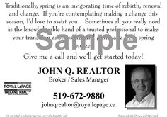Royal lepage triland realty sample card royal lepage triland royal lepage triland realty sample cards reheart Gallery
