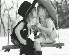 Young cowboy and cowgirl love!!