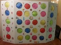 Resultado de imagen de punch wall birthday Birthday Candy, Carnival Birthday Parties, Birthday Party Games, First Birthday Parties, Kids Party Games, Birthday Ideas, Candyland Games, Candy Land Theme, Troll Party