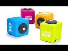 Awesome idea for event discussions and Q&A - Catchbox - the world's first throwable microphone #eventtech #engagement #Q&A