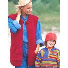 Free Easy Women's Vest Knit Pattern