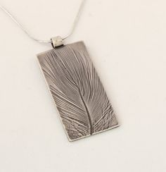 'Feather' by Val Muddyman of SlickSilver Jewellery