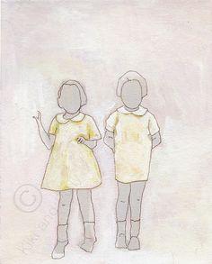 Sisters by kikiandpolly on Etsy, $22.00