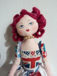 Little England  doll by thedollsgarden on Etsy, £25.00