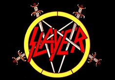 Slayer is a hugely popular and influential American heavy metal band. http://www.famouslogos.net/slayer-logo