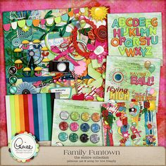 Family Funtown Collection by Aimee Harrison at Digital Scrapbooking Studio