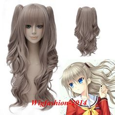 Back To Search Resultshome Careful Anime Charlotte Tomori Nao Wig Cosplay Costume Women Long Heat Resistant Synthetic Hair Wavy Wigs