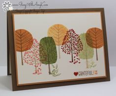 Stampin Up! Totally Trees for the Happy Stampers Blog Hop – Stamp With Amy K