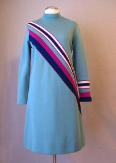 Vintage 1960s Mod era dress by Mia by BWWSGVintage on Etsy